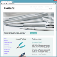 Product Website Template - Excelta