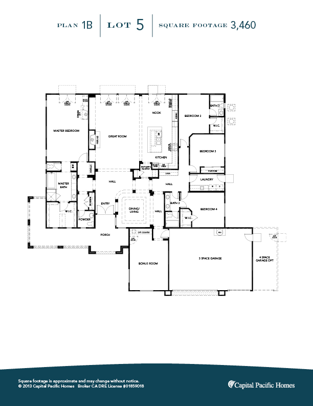 Provence EstatesView homes in Riverside CA Capital Pacific Homes – Pacific Homes Floor Plans