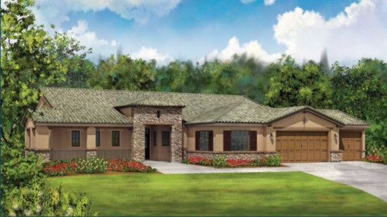Provence estates view homes in riverside ca capital for Provence homes