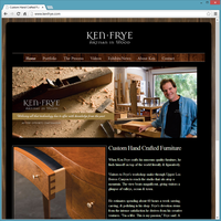 Portfolio Website Template - Ken Frye