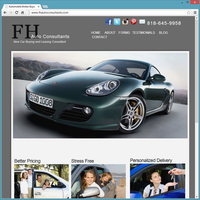 Professional Service Website Template - FH Auto Consultants