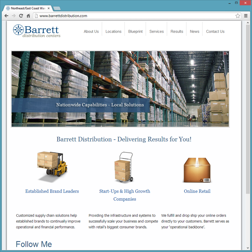 Template Websites - Ameravant Web Design