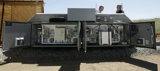 Monday, Jun 17 2013 04:57 PM Innovative energy storage project tested near Tehachapi