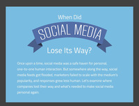 Social Media Strategy - When Did Social Media Lose Its Way