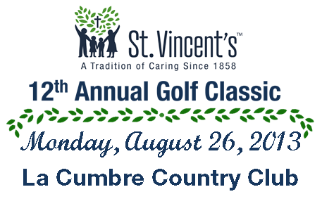 St. Vincent's Annual Golf Classic - August 26, 2013