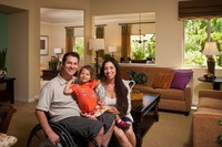 Pardee Homes' Single-Story Makes New Home Dream Come True For Young Family At Fair Oaks Ranch�