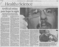 Excelta Forceps Scientist - Santa Barbara News Press