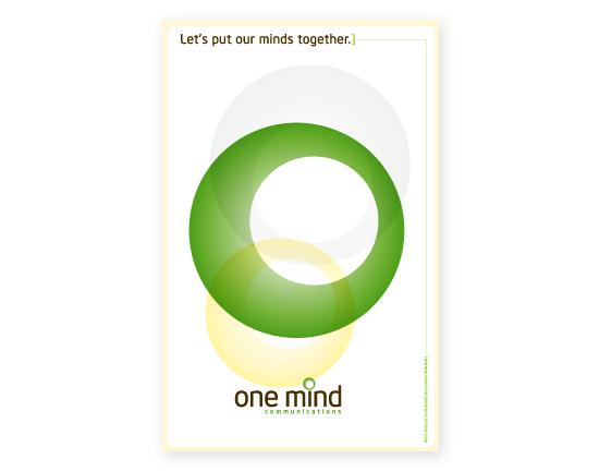 One Mind Communications Poster