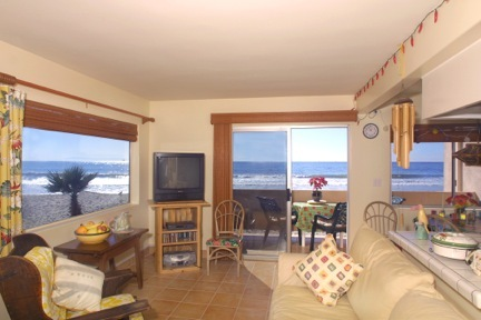 California Beach Front Condo Unit 204