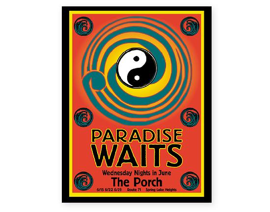 Paradise Waits Poster