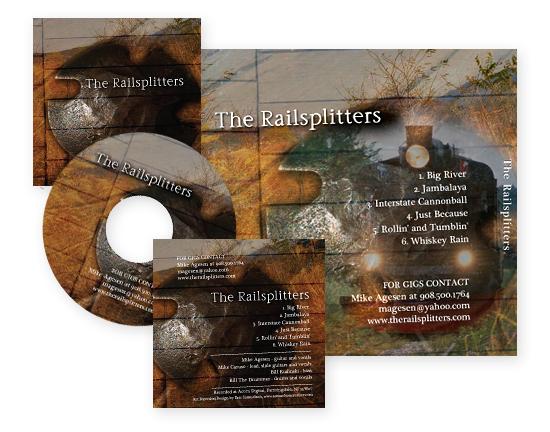 The Railsplitters CD