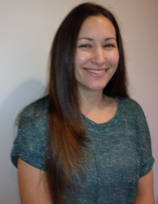 Brazilian Keratin Hair Treatment - After - Front
