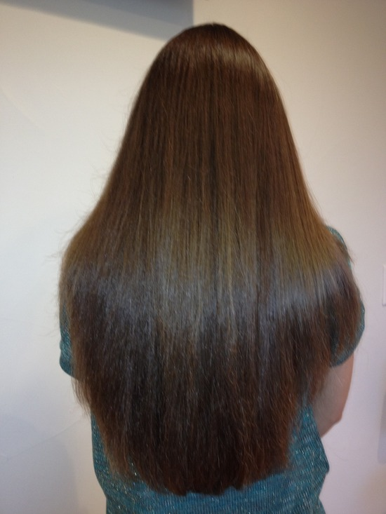 Brazilian Keratin Hair Treatment - After - Back