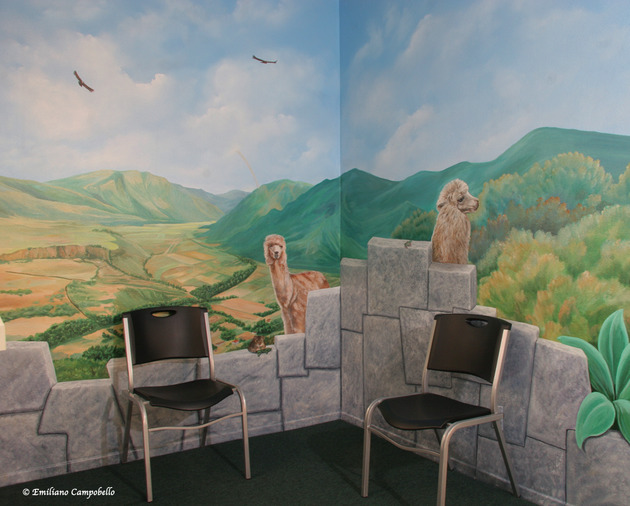 Pediatrician Sacred Valley mural 891