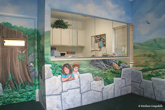 Pediatrician Sacred Valley mural 912