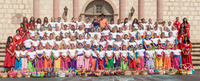 Fiesta Flower Girls Visit Mission Terrace