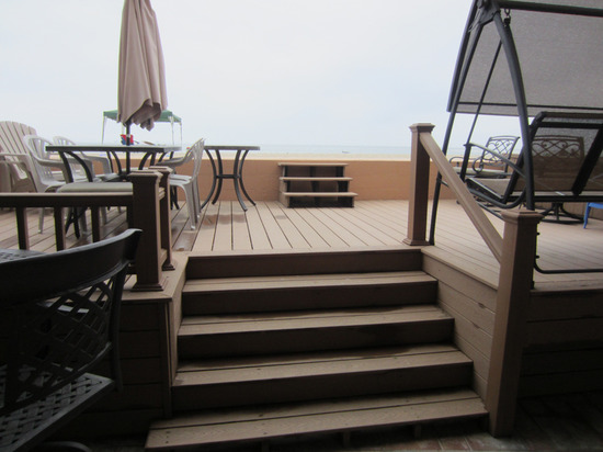 Beach Front Rentals - Step onto the sand from your unit