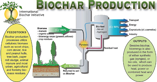 Biochar Production Process