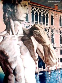 David in Venice Mural