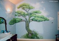 Big Bonsai Child's room mural