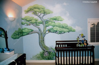 Big Bonsai Child's mural 2