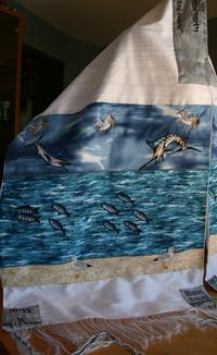 Blaise's Fishy Tallit