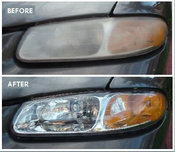Headlight Lens Cover Restoration