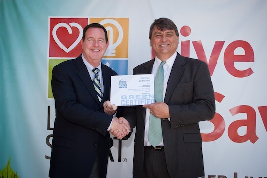 LivingSmart� Homes press event with Michael McGee and Michael Luzier