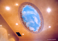 Sky Dome ceiling painting 1