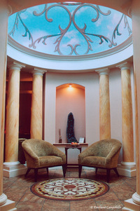 Spa Trompe L'oeil dome 1