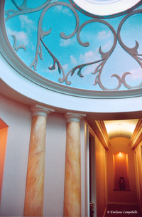 Spa Trompe L'oeil dome 2