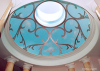 Spa Trompe l'oeil dome 3