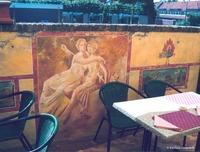 Pompeii fresco restaurant mural 3