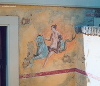 Pompeii fresco restaurant mural 5