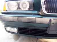 Faded Plastic Trim for the Bumper