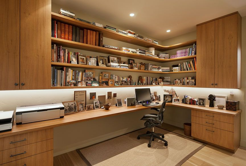 Custom Built-in Office