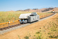 Storing Energy on Rail Tracks