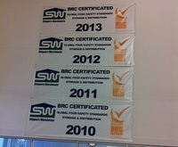Gifford BRC Certification 2013
