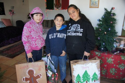 Gift Deliveries 2011 01