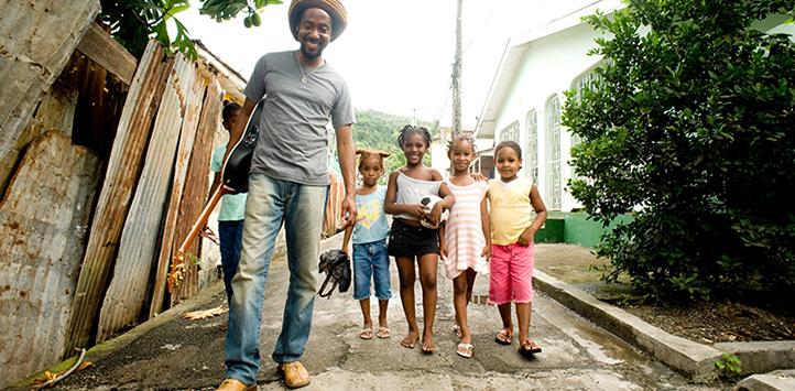 Taj Weekes Named UNICEF Champion for Children