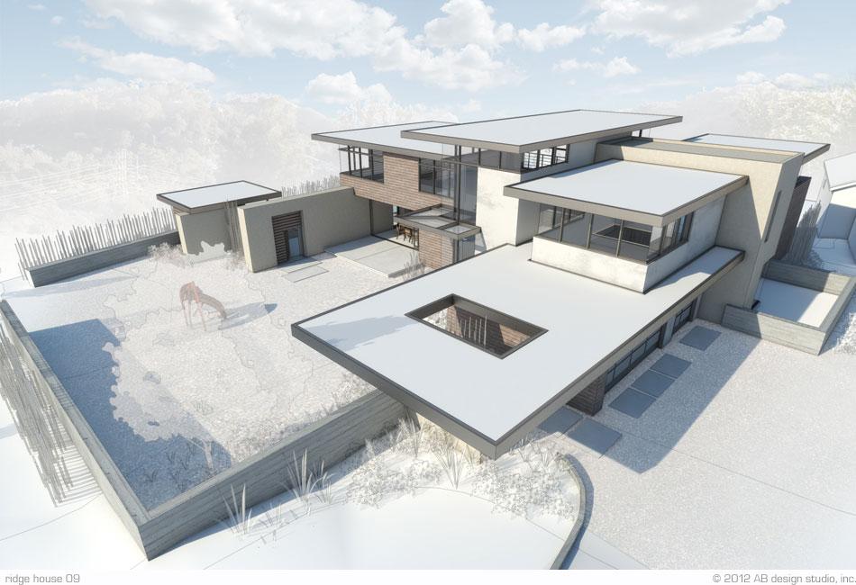 Modern Ridge House