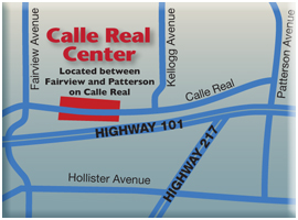 Calle Real Shopping Center Map