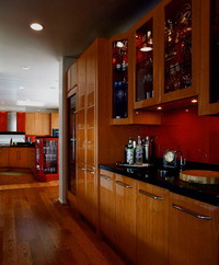 Montecito Contemporary Kitchen
