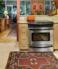 Ethnic Art and Accessories for Montecito Condo