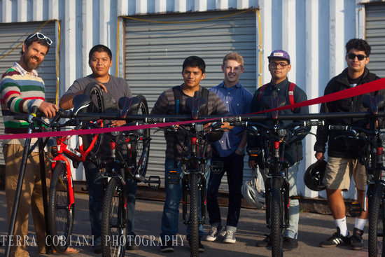 SBici Bike Trailer Ribbon Cutting Event