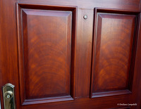 Faux mahogany door 2