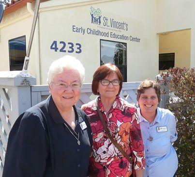 Santa Barbara Foundation Visits St. Vincent's