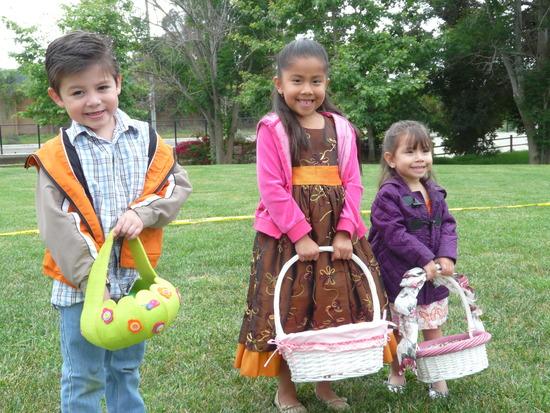 St. Vincent's Easter Egg Hunt 2014