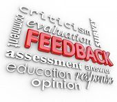 After Analysis, it's important for your organization to receive meaningful feedback