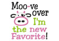 Moo~ve Over! No Cow Needed.